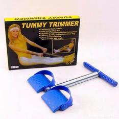 Dây Kéo Lò Xo Tập Lưng Bụng Tummy Trimmer( Xanh)