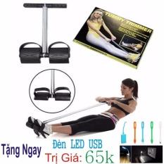 Dây kéo tập thể dục lò xo đa năng Tummy Trimmer – Hàng Chất Lượng Loại1 + Tặng Ngay Đèn LED USB Trị Giá 65k