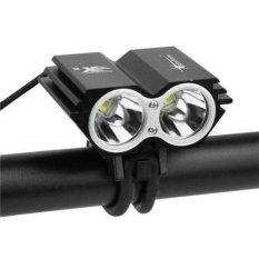 Đèn xe đạp X2 siêu sáng (Đen)