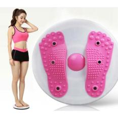Đĩa xoay eo tập thể dục giảm cân 360 độ kết hợp massge chân cao cấp