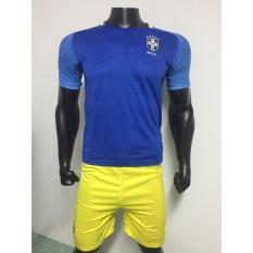Đồ đá banh đội Brasil ML1617 (Xanh)