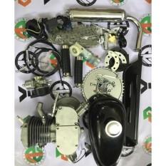 động cơ gắn xe đạp chạy xăng, động cơ xăng 2 thì chế xe đạp 80cc