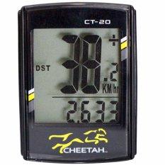 Đồng hồ đo tốc độ xe đạp CHEETAH có dây (20 chức năng) — — SPORTS WORLD SHOP