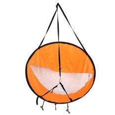 Bền 42 Thuyền Kayak thuyền Gió Đường Sup Mái Chèo Tàu Buồm-quốc tế(Orange)