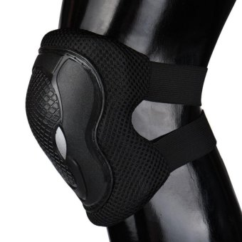 Elbow Knee Wrist Protective Guard Safety Gear Pads Roller Skate Bicycle Cycling - intl