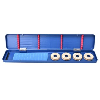 Fishing Tackle Box Main Sub Line Shaft Circular Storage FishingSupplies - intl