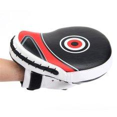 Fitness Boxing Punch Pad Glove Mat Thai Taekwondo Target Feet Pads Kick Training Punching Kicking Shooter for Body Building – intl