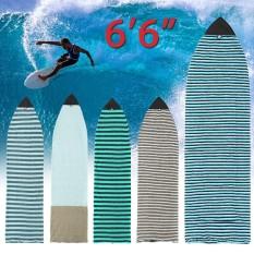 "☆For 6'6"" Surf board Longboard Funboard Socks Cover Storage Bag Protective Case – intl"