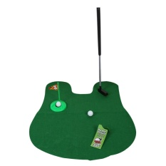 Funny Toilet Mini Putter Putting Game Novelty Gift – intl
