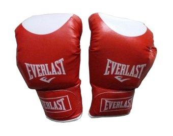 Chi tiết sản phẩm Găng đấm Boxing Everlast L1 đỏ