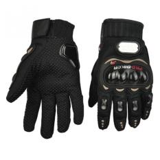 Giảm giá Găng tay bao vệ tay phượt thủ Full ngón – Quốc tế – Đen – Lazada – GT101F