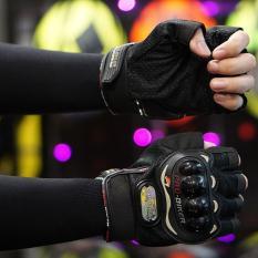 Găng tay bao vệ tay phượt thủ – Quốc tế – Lazada – Nữa ngón GT101N