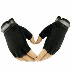 Găng tay bao vệ tay thể thao Nữa ngón – Tập Gym – Đen