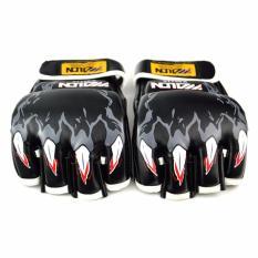 Găng tay Boxing hở ngón (đen)