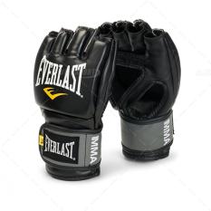 Găng tay Everlast MMA hở ngón (Đen)