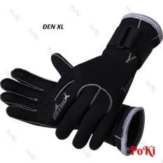 Găng tay lặn biển 3mm, chất liệu cao cấp, chống trơn trượt, giữ ấm hàng thể thao chuyên dụng cao cấp – POKI