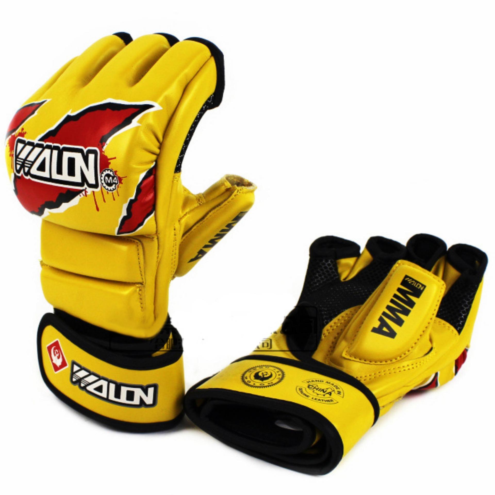 Găng Tay MMA Wolon Fighter Gloves (Vàng)
