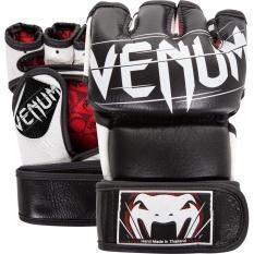 """Găng tay MMA hở ngón VENUM """"Undisputed"""" 2.0 Gloves Đen/Black"""