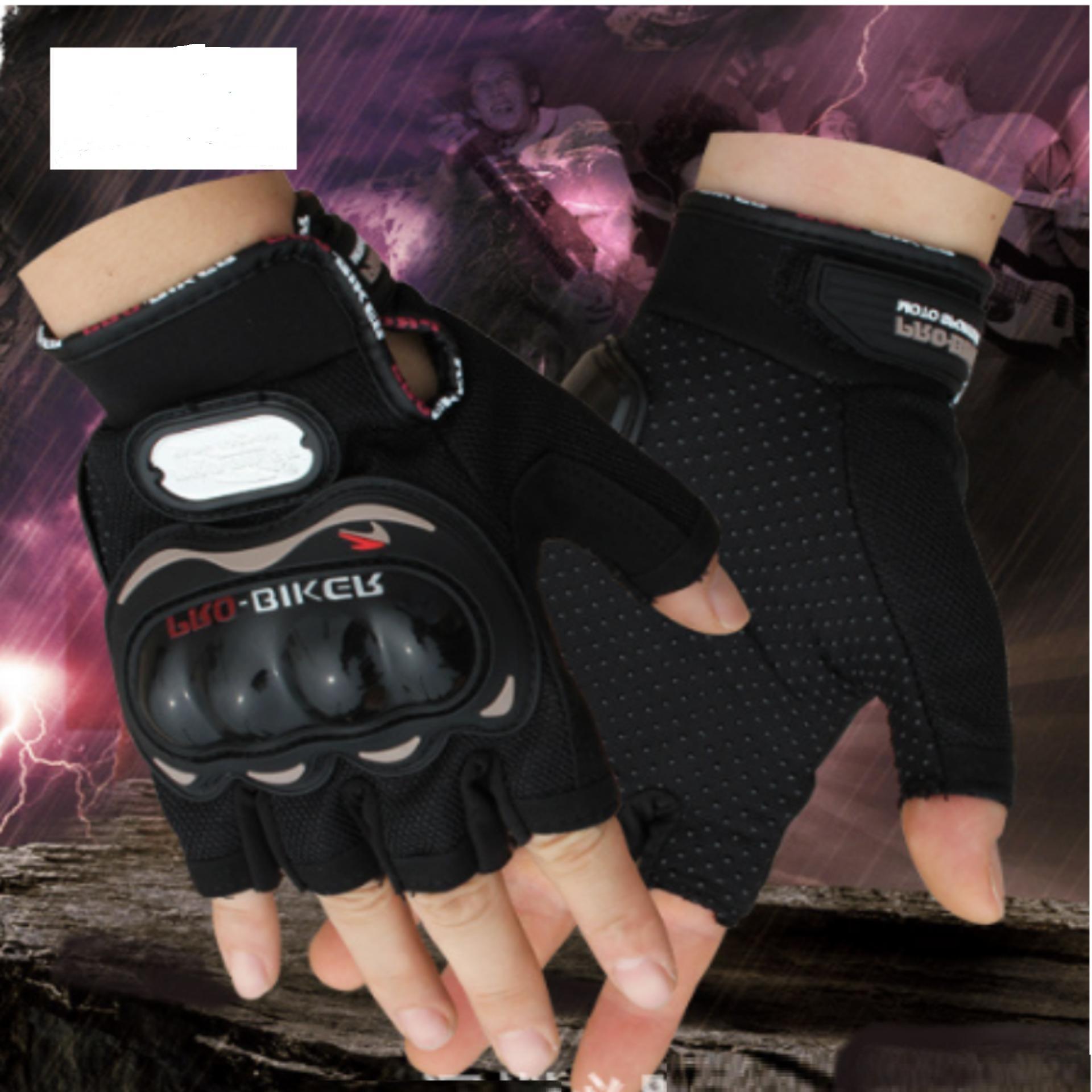 Nơi nào bán Găng tay ngắn ngón Pro-Biker- Hở ngón – Đi phượt