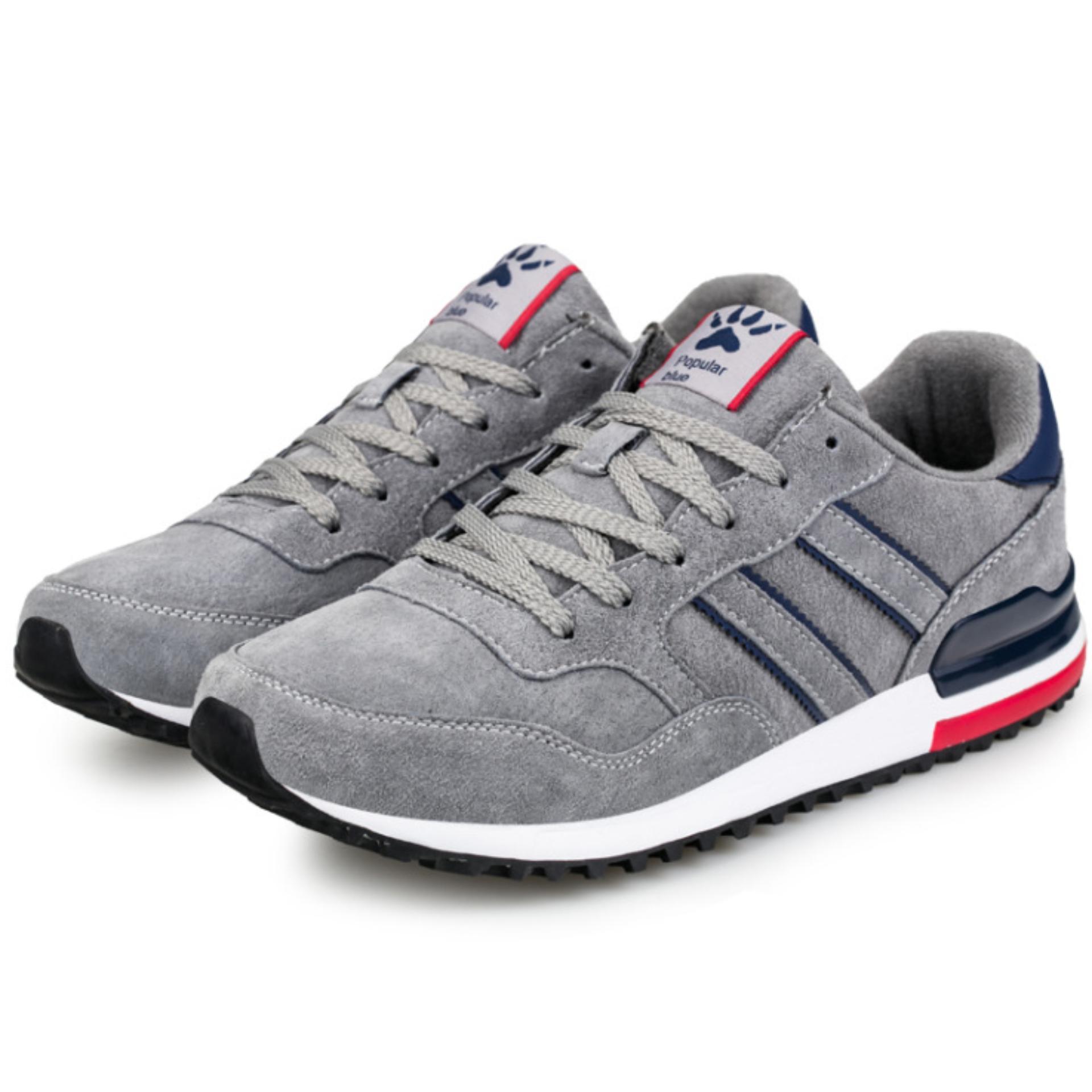 Giày thể thao nam màu xám – GTT 12.1