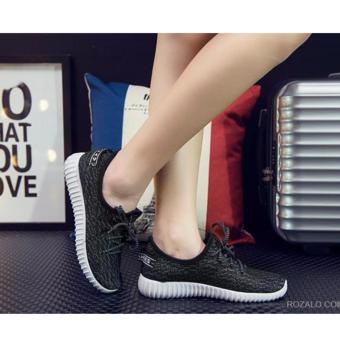 Giày thể thao nữ siêu thoáng Sportmax SPW905626D - Đen - 2