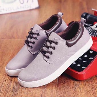 Giày thể thao Sneaker nam cá tính V.5 (Xám)