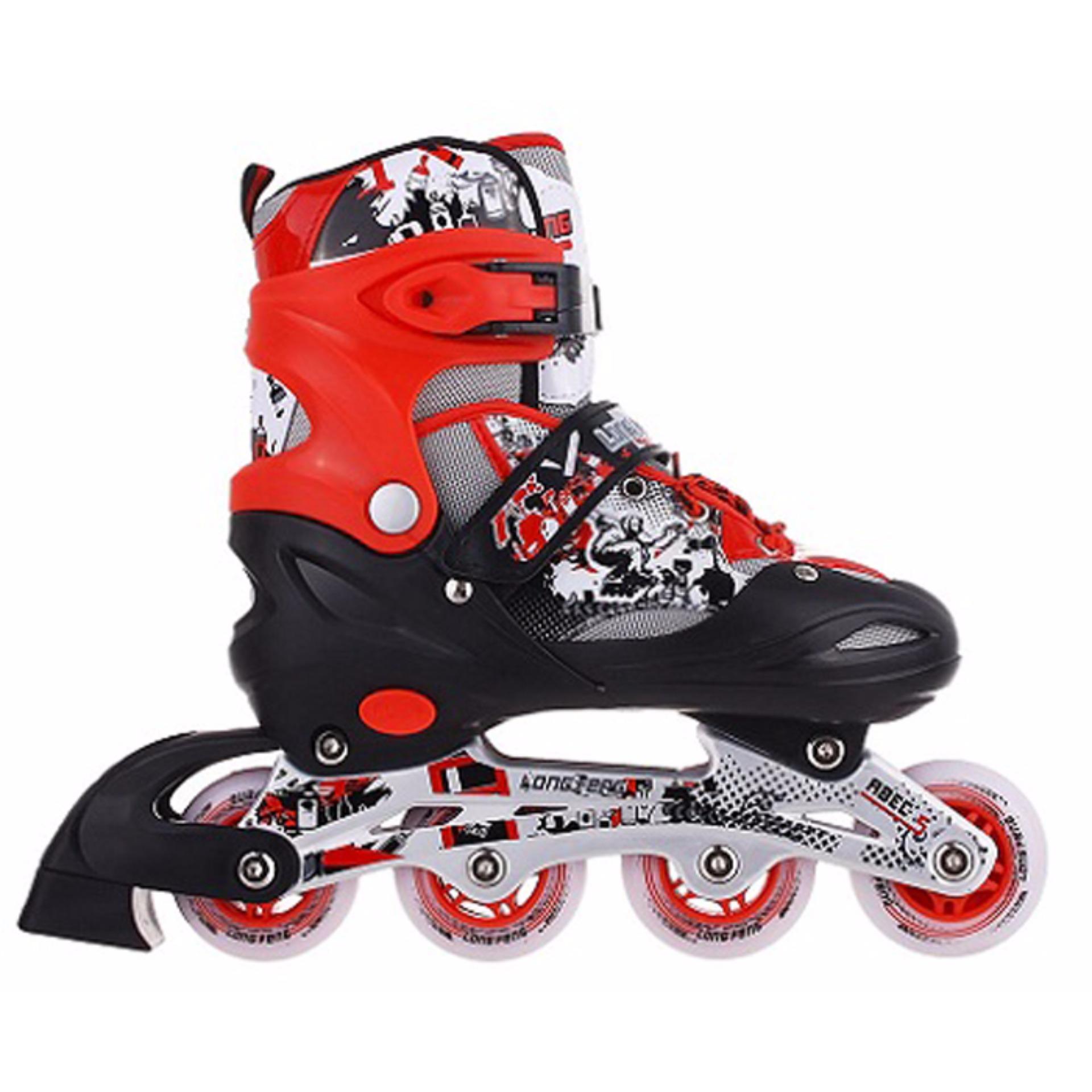 Giầy trượt 906 Size M Đỏ+ Xanh nhạt (35-38)