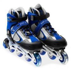 Giày trượt Patin cao cấp dành cho trẻ em – màu xanh