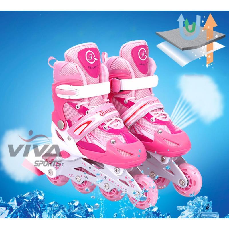 Mua Giày Trượt Patin Phát Sáng Bánh Cao Cấp ( Size S ) - VIVA SPORT