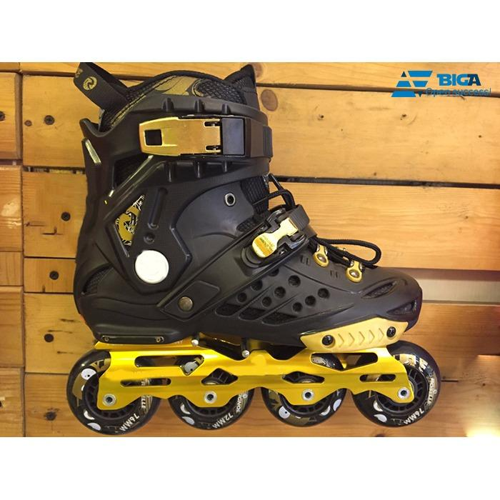 Giày Trượt Patin RSL F1 Đen Vàng Size 40 US05281-01