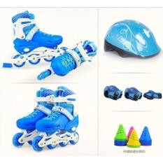 Giày trượt Patin Sports Size L cho bạn trên 11 tuổi + Kèm Bảo Hộ