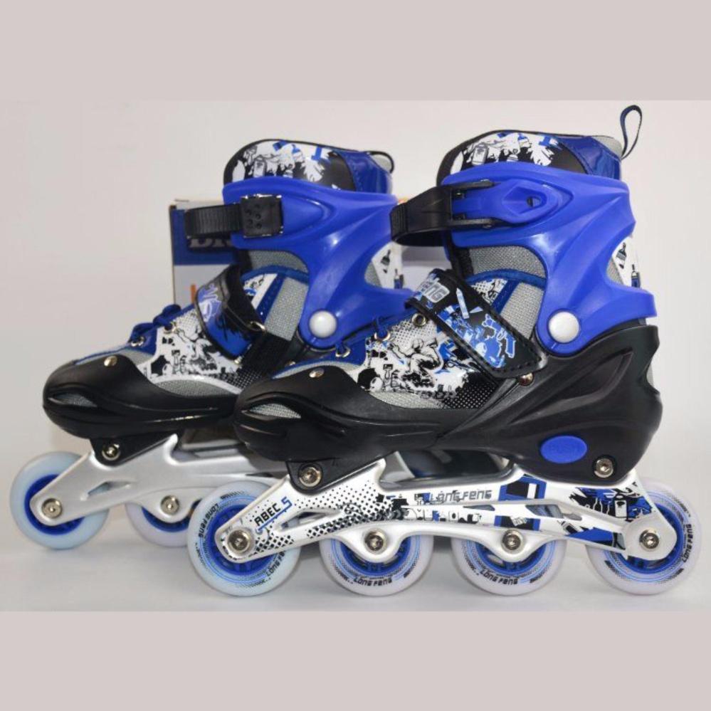 Giầy trượt patin trẻ em Long Feng 906 size S-Phù hợp cho trẻ dưới 6 tuổi
