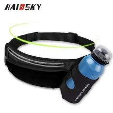 Haissky Có Thể Cho Vào Bình Nước cho đi Bộ Thể Thao Ốp Lưng Điện thoại Dưới 6 inch (Đen)-quốc tế