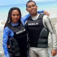 HISEA nam Nghề Nghiệp Lướt Thuyền Máy Câu Cá Áo Phao Bơi Người Lớn Sức Nổi Áo Phao Nổi Quần áo-quốc tế