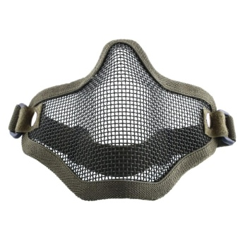 Hunting Metal Steel Net Mesh Airsoft Protective Half Face Mask3Color - intl - 8626292 , OE680SPAA67AMLVNAMZ-11442450 , 224_OE680SPAA67AMLVNAMZ-11442450 , 471000 , Hunting-Metal-Steel-Net-Mesh-Airsoft-Protective-Half-Face-Mask3Color-intl-224_OE680SPAA67AMLVNAMZ-11442450 , lazada.vn , Hunting Metal Steel Net Mesh Airsoft Protect