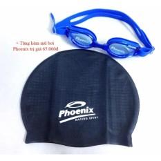 Kính bơi Phoenix PN203 + tặng mũ bơi Phoenix