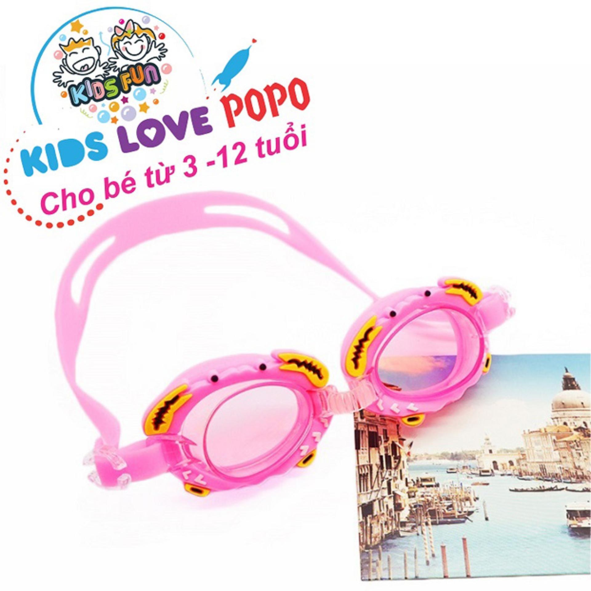 Kính bơi trẻ em thời trang (Dưới 12 tuổi), chống tia UV – POPO Sport