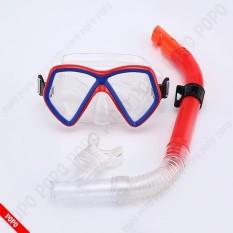 Kính lặn gồm ống thở, mặt nạ lặn ống thở OCEAN EYES 1198 chất liệu cao cấp POPO Collection