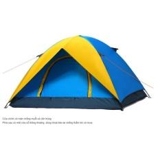 Lều trại chống mưa to gió lớn 2 lớp cho 4 người, lều 4 người 2 lóp chất lượng cao