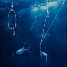 Bộ 2 lưỡi câu cá tự động giật cao cấp (Đen)
