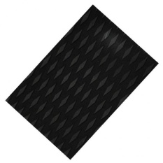 MagiDeal EVA Diamond Groove Surfboard Surfing Traction Pad Deck Grip Tail Pad black – intl