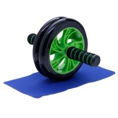 Máy tập cơ bụng AB Wheel New (Xanh lá)