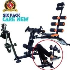 Máy tập cơ bụng đa năng New Six Pack Care NSPC (Đen phối cam)