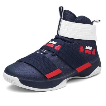 Men's Sports Outdoor Breathable Fashion Wear-resistant BasketballShoes - intl