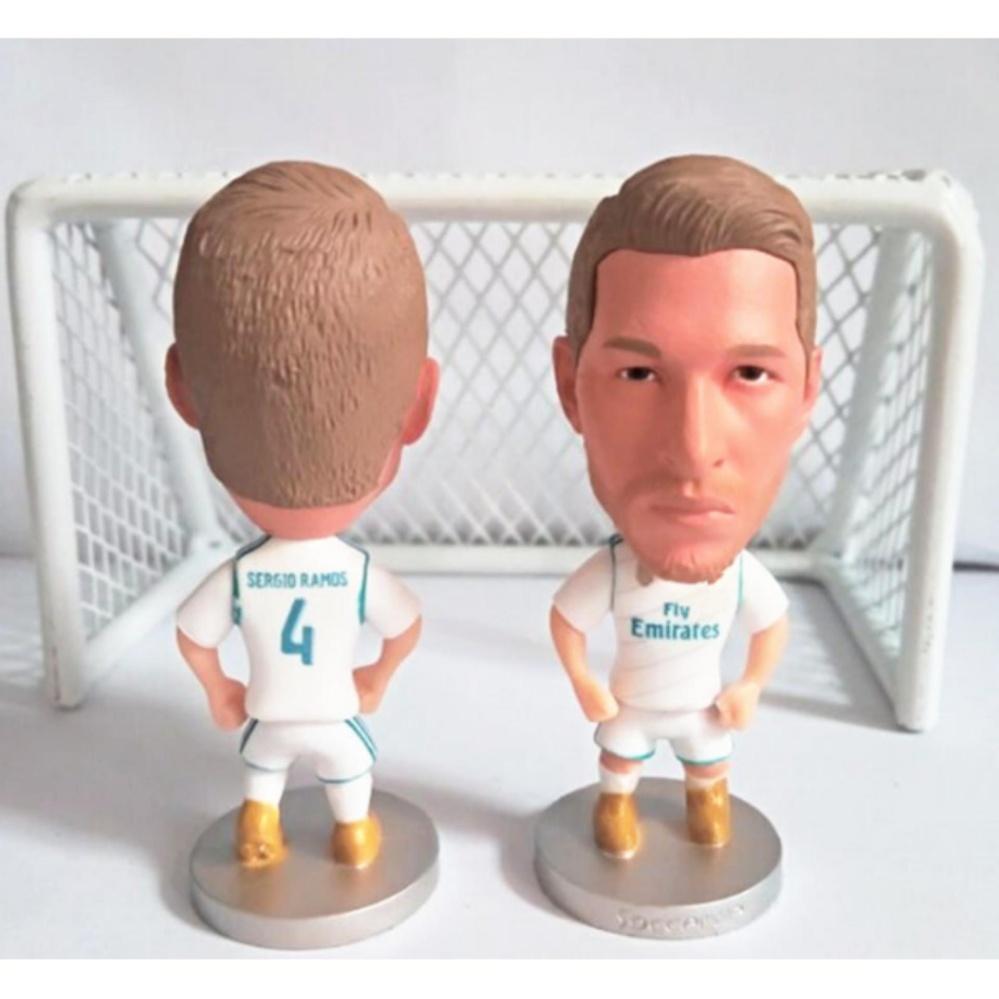 Mô hình tượng cầu thủ bóng đá Ramos (Real Madrid)