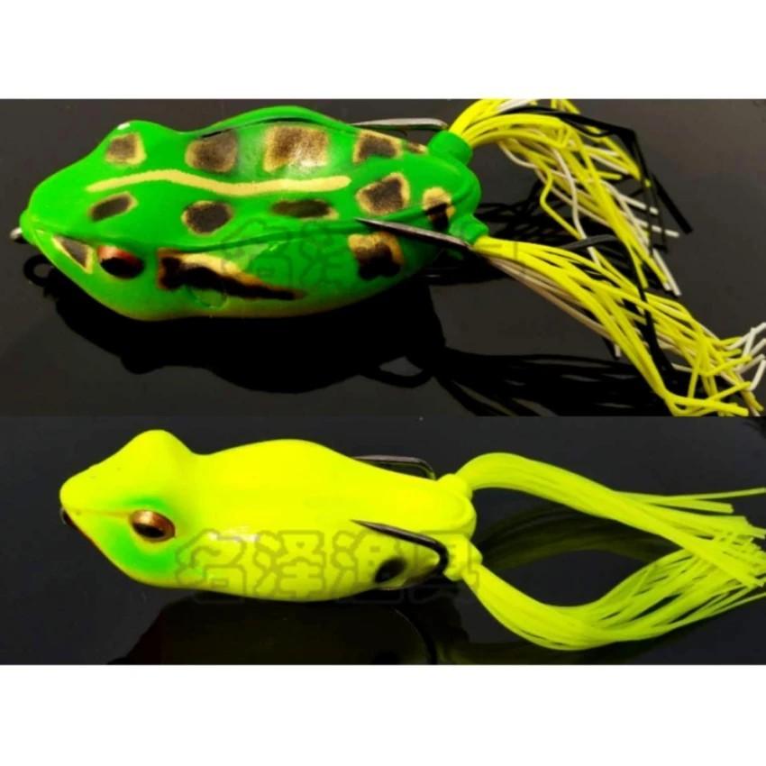 Mồi giả nhái câu cá lóc cá quả cao cấp 01( giao màu ngẫu nhiên)-GDGS