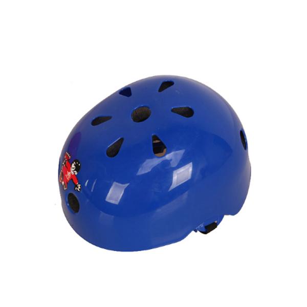 Mũ bảo hiểm cho bé chơi thể thao (Xanh)