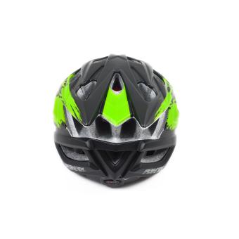 Mũ bảo hiểm đi xe đạp Fornix A02N030M(Đen phối xanh lá) - 5