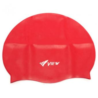 Mũ bơi View Nhật Bản (Đỏ)