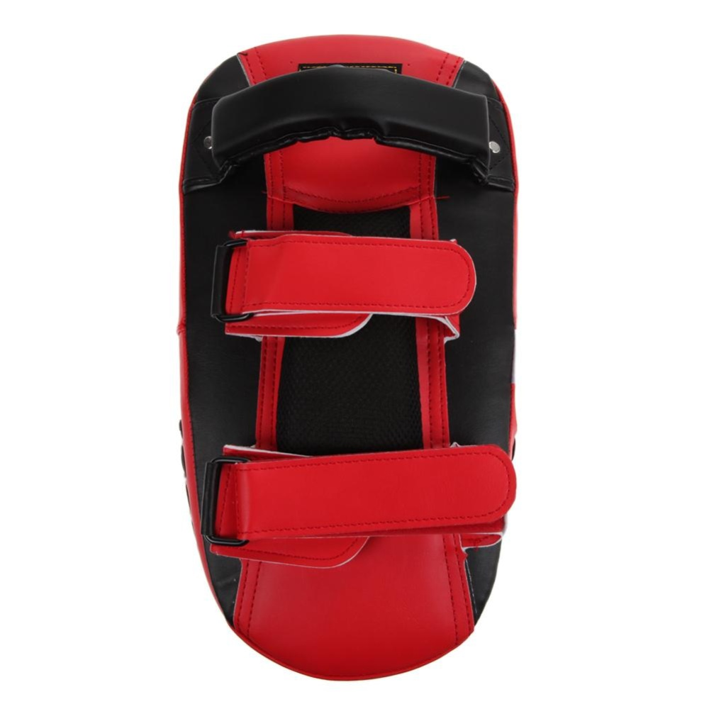 Muay Thai Kick Boxing Training Shield Curve Pads Punch MMA Foot Target - intl